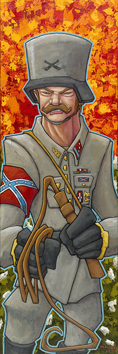 Maydak, Mike, Confederate Flag 1